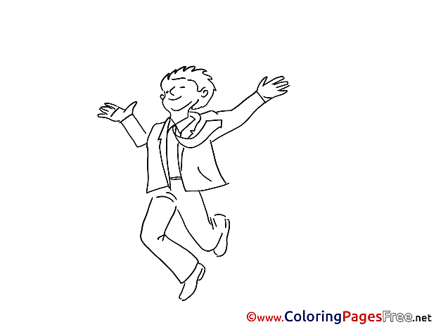 Success free Colouring Page download