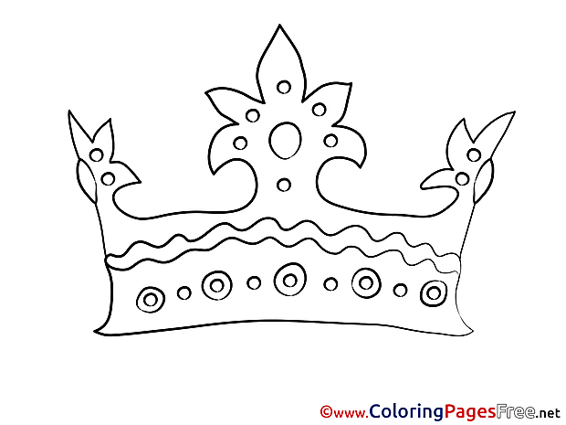 Corona Kids download Coloring Pages
