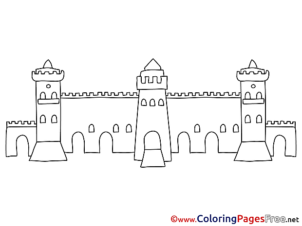 Wall Coloring Pages for free