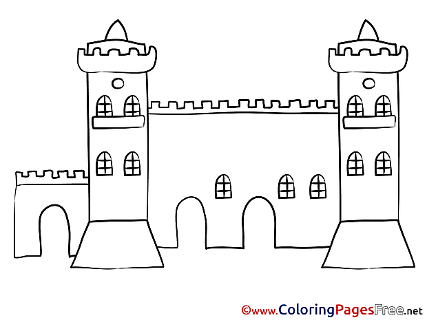 Wall Kids free Coloring Page