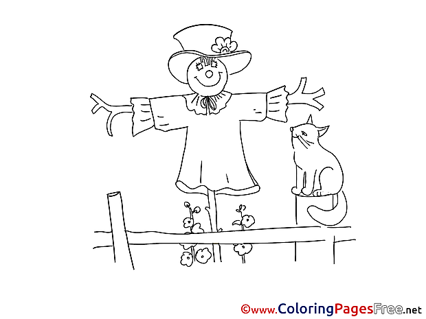 Bogey Children Coloring Pages free