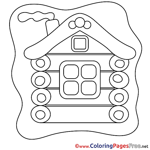 House Coloring Sheets download free
