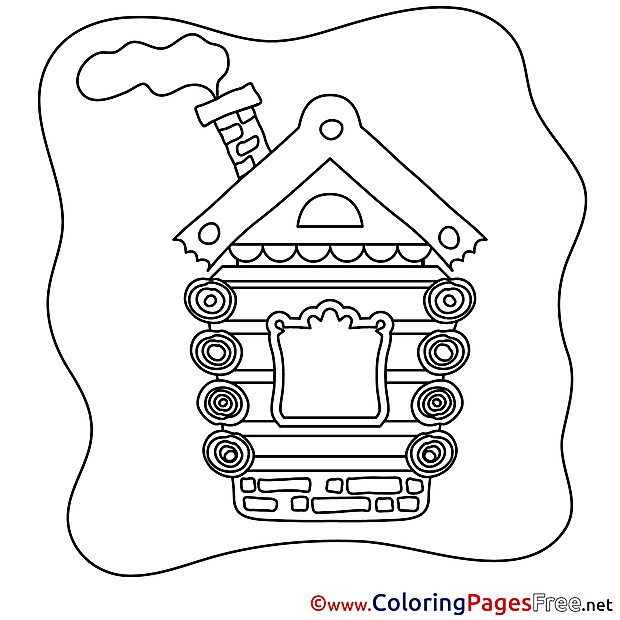 House free printable Coloring Sheets