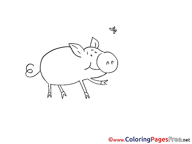 Piggy printable Coloring Sheets download
