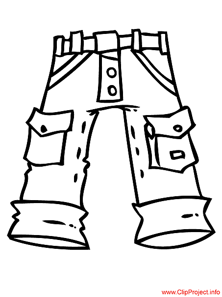Jeans coloring for free