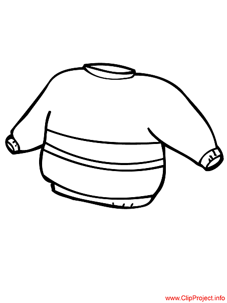 Sweater picture to coloring