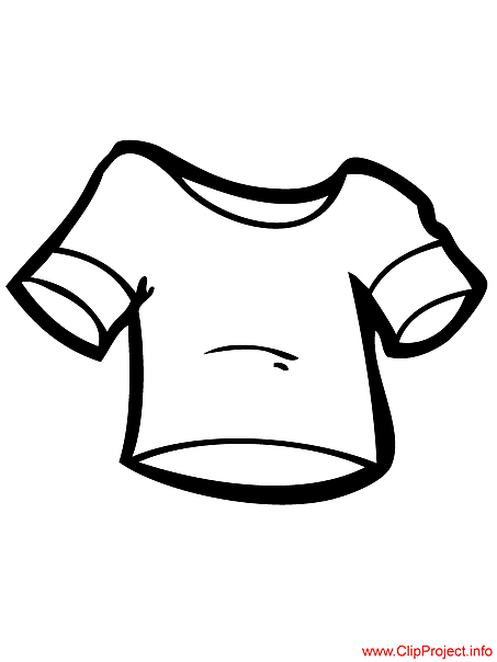 T-shirt image to color