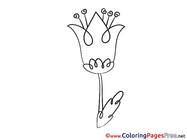 Bluebell Kids free Coloring Page
