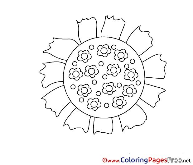 Litmus Colouring Sheet download free