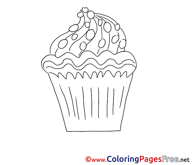 Cake Coloring Sheets download free