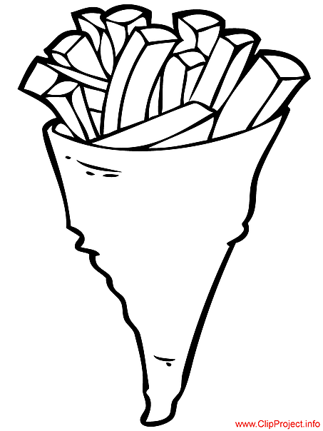 Chips image to coloring