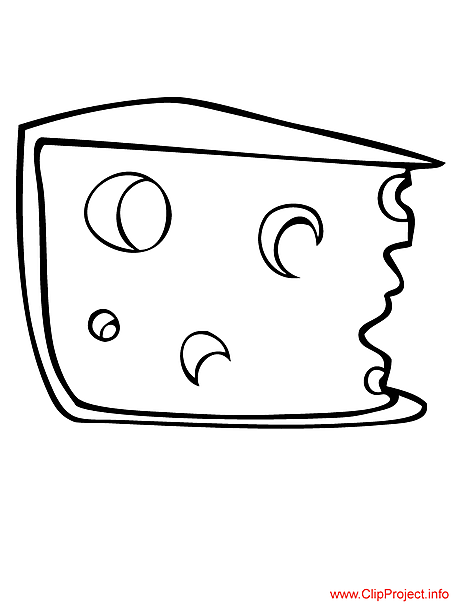 Food coloring pages for free cheese