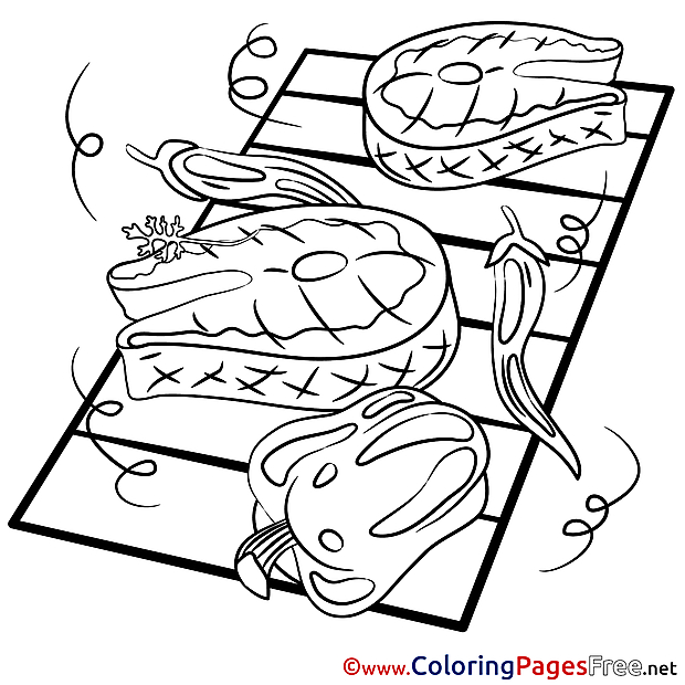 Meat Kids download Coloring Pages