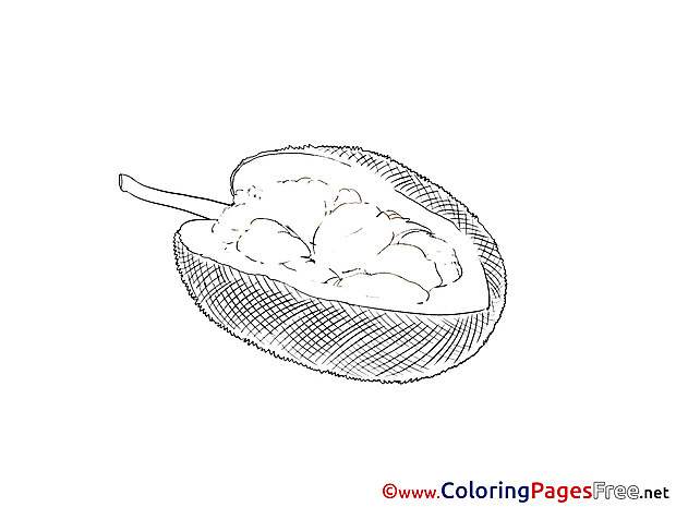Colouring Sheet download Fruit free