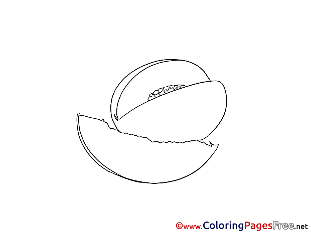 Mango free Colouring Page download