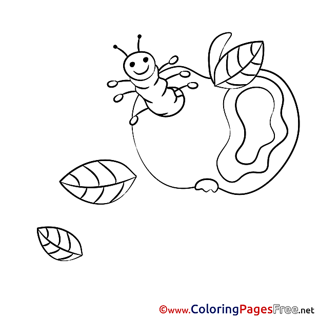 Printable Coloring Sheets Apple download
