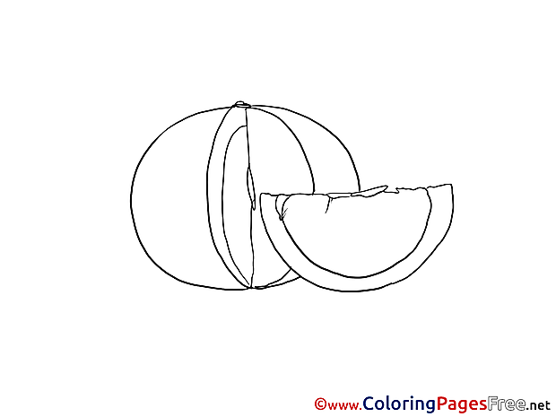 Pumpkin Kids download Coloring Pages