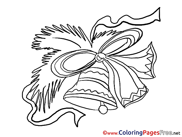 Jingle Bells download New Year Coloring Pages