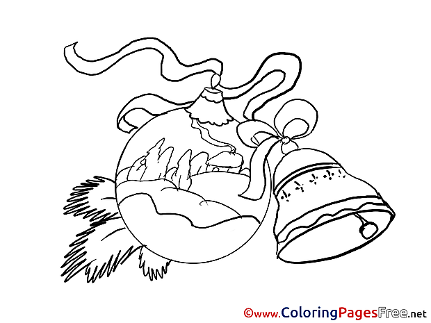 New Year free Coloring Pages