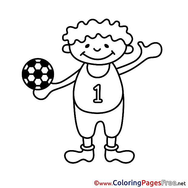 Ball Boy printable Coloring Pages for free