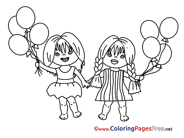 Free printable Children Coloring Sheets