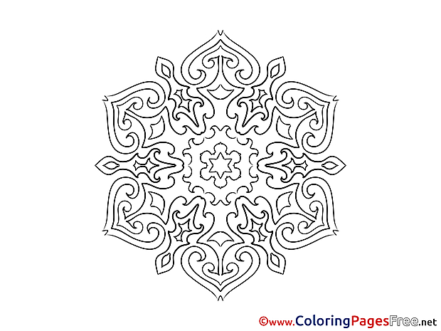 Download Mandala Coloring Pages