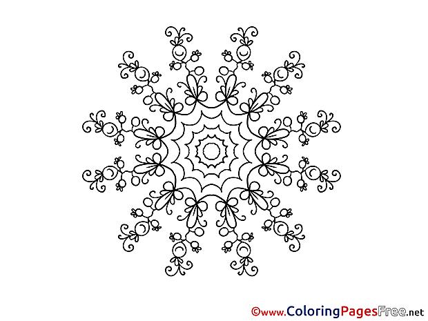 Kids Mandala Coloring Pages