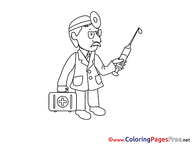 Physician for free Coloring Pages download
