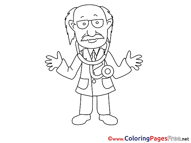 Therapist printable Coloring Sheets download
