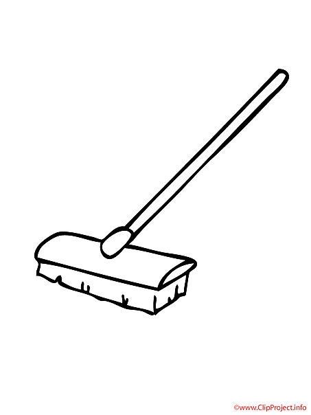 Mop coloring sheet