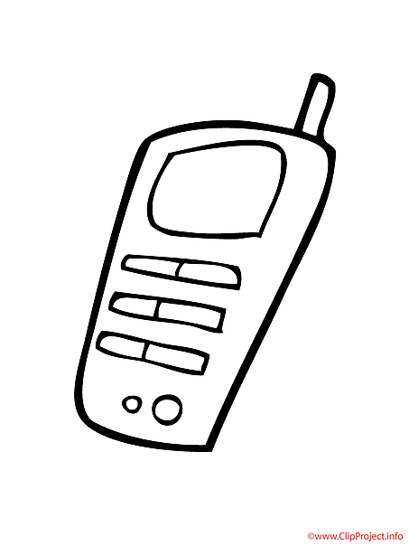 Phone printable coloring page