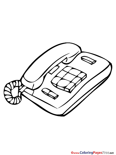 Phone printable Coloring Sheets download