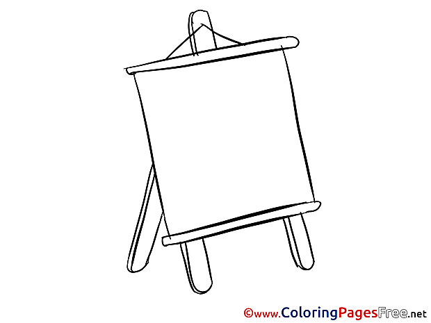 Office Board free Colouring Page download