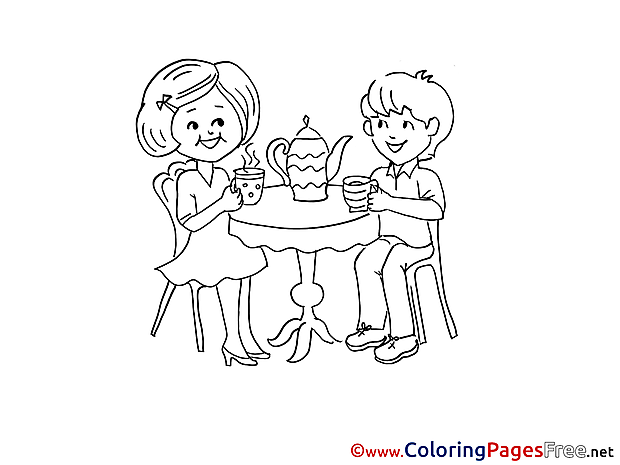 Dialog Kids Coloring Sheets download free