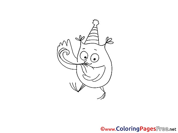 Owl free printable Coloring Sheets Party
