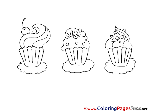 Pancakes download printable Coloring Pages