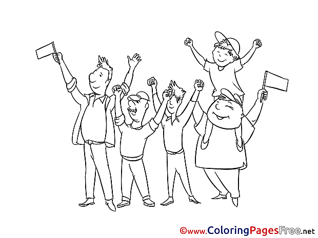 Festival Colouring Page printable free