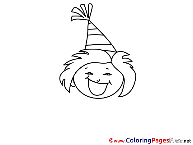 Party for free Coloring Pages download
