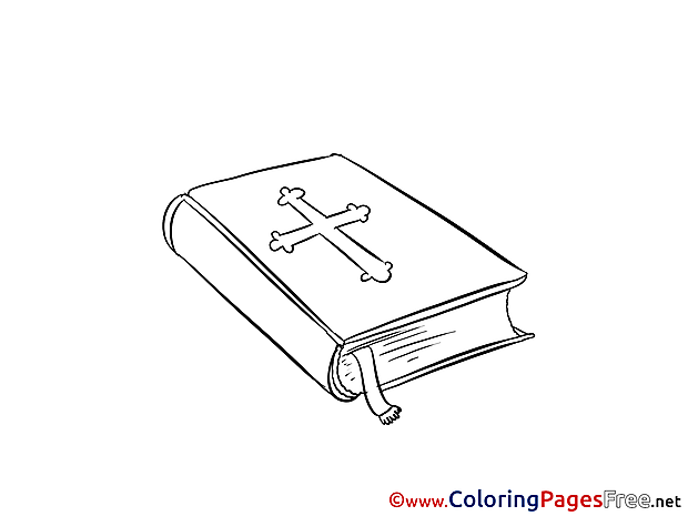 Bible download Christening Coloring Pages