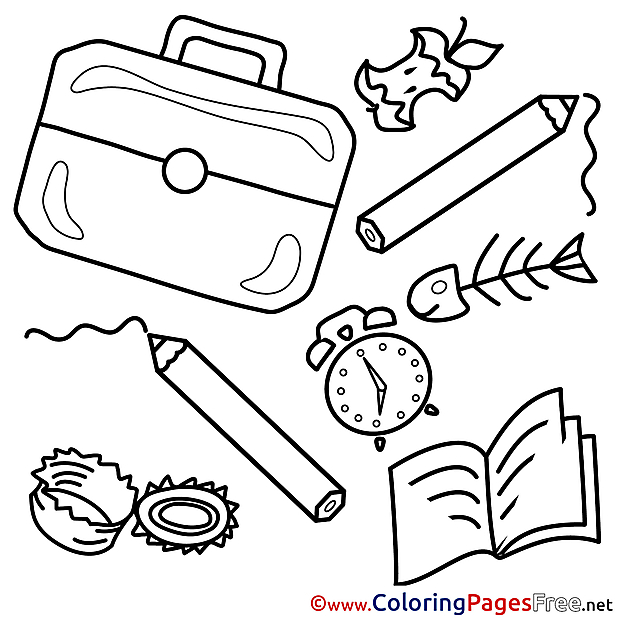 Education for Children free Coloring Pages
