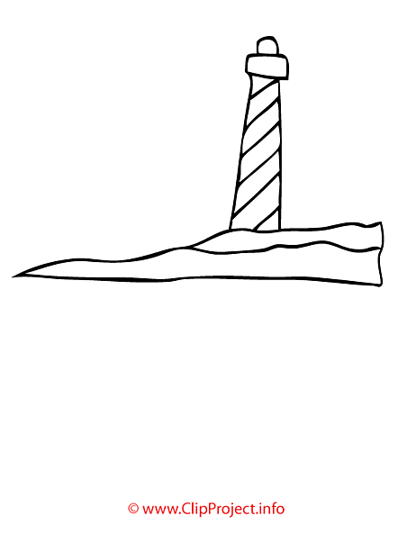 Beacon coloring page