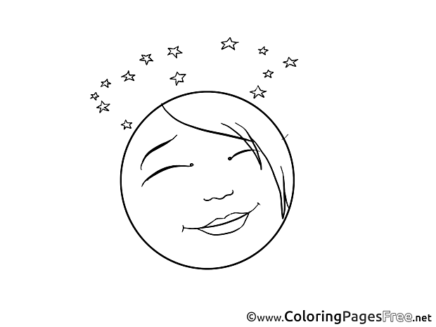 Dreamer Kids Smiles Coloring Pages