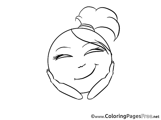 Dreamer Smiles Coloring Pages free