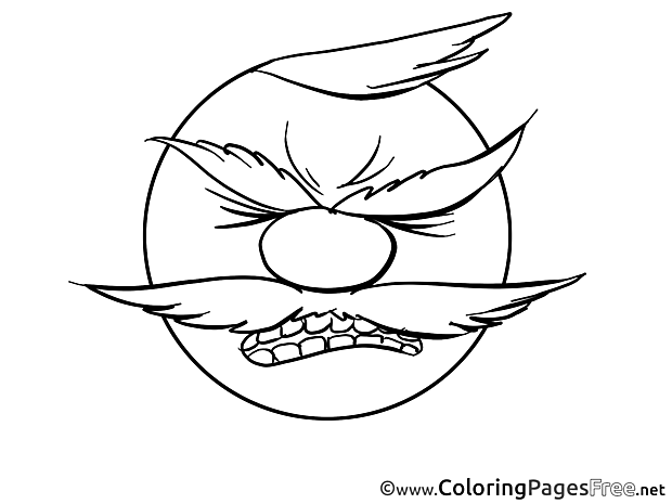 Furious download Smiles Coloring Pages