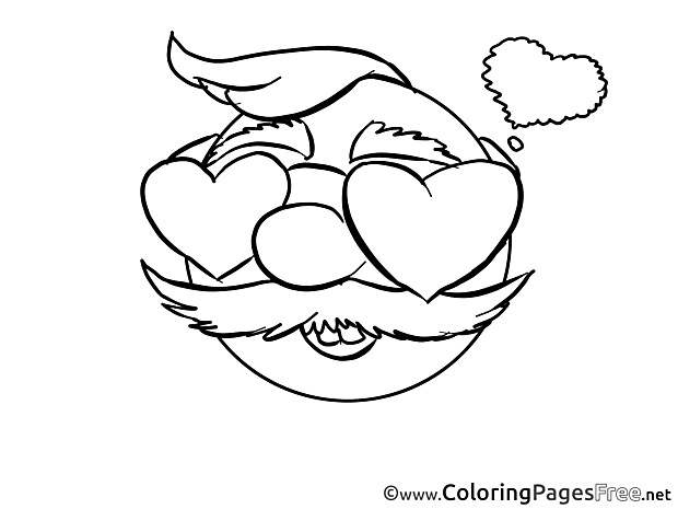 Love Coloring Pages Smiles for free