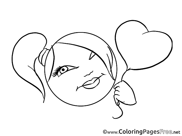 Love printable Smiles Coloring Sheets