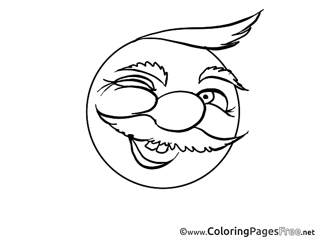 Wink for Kids Smiles Colouring Page