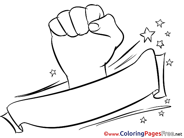 Albania Flag free Colouring Page Soccer