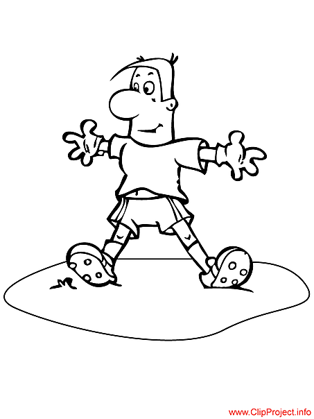 Football coloring page for free