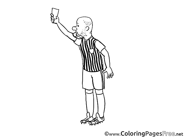 Penalty Kids Soccer Coloring Page